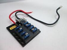 Bussmann 15600-08-11 ATC Fuse Panel, 8-Fuses, Single Supply Circuit