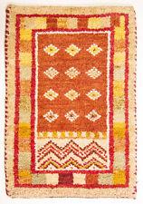 Moderne Wohnraum-Teppiche mit geometrischem Muster in Handgeknüpft-Herstellung