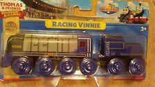 RACING VINNIE Thomas Tank Engine Wooden Railway NEW IN BOX