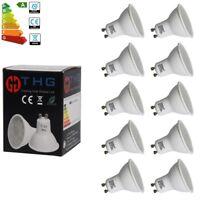 10x 4W=35W LED Bulbs Spot Light Lamps GU10 Spotlight Energy Saving Day White A++