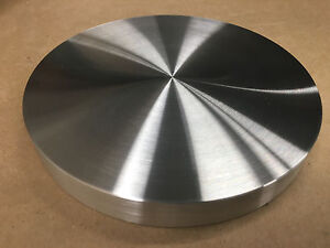 """STOVE HEAT DIFFUSER PLATE ALUMINUM FLAT 8"""" DIA. X 3/4"""" THICK! GAS ELECTRIC USA!!"""