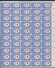 US Sheet MNH #1016 3c International Red Cross , 1016