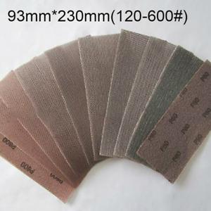 93mm*230mm Mesh Sanding Sheets Sandpaper Strip 120 150 180 240 320 400 600Grit