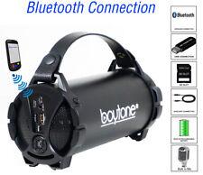 Boytone BT-38BK Portable Bluetooth Speaker Indoor/Outdoor, FM Radio, USB Port