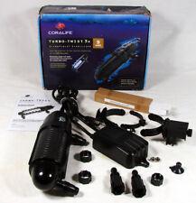 Coralife Uv Sterilizer Turbo Twist 3X 9W for Aquariums Up to 125 gal ~ Used?