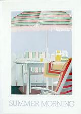 (PRL) HOTEL SUMMER MORNING VINTAGE AFFICHE ART PRINT ARTE POSTER ILLUSTRAZIONE