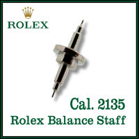 ♛ ROLEX Balance Staff, High Quality, Swiss Made, Part No 429 For Cal. 2135 ♛