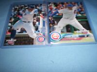 ANTHONY RIZZO 2020 //2018 TOPPS OPENING DAY CHICAGO CUBS #22 #6 [NEW] 2 CARDS