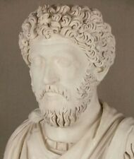 Römische Büste Marc Aurel, Imposanter Philosoph und Kaiser