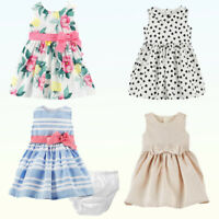 """Baby Girls Dress & Bloomers Carter's """"Dress Me Up""""  2 Pc Set Party Occasion NWT"""