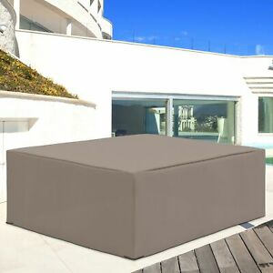 Outsunny 275x205cm Outdoor Garden Furniture Protective Cover Water UV Resistant