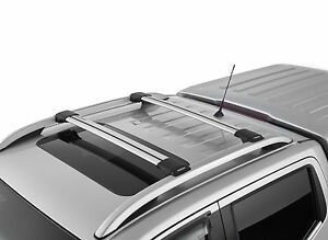 BRAND NEW GENUINE NISSAN NAVARA ST-X NP300 D23 CROSS BARS (ROOF RAIL MOUNTED)