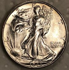 1946-S Silver Walking Liberty Half Dollar 50c ~ BU Frosty White Lustrous Gem
