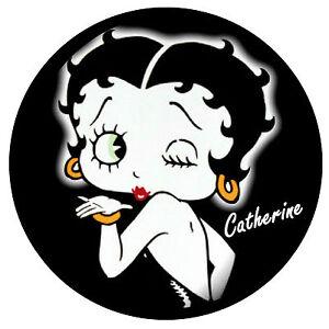 Betty Boop - Fun Personalizado Soporte para Disco de Itv - Reutilizable - Nombre