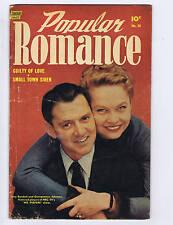 Popular Romance #28 Standard Pub 1954 Tony Randall