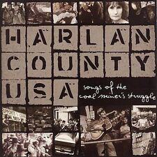 NEW Harlan County USA: Songs Of The Coal Miner's Struggle (Audio CD)