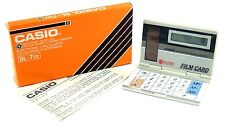 VINTAGE CASIO SL 7GY 8 DIGIT FILM CARD CALCULATOR -  COLLECTORS ITEM - NEW
