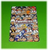 TEENYMATES COMPLETE NFL PUZZLE SET ALL 35 PIECES SERIES 1 VERY RARE DISCONTINUED