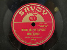 Errol Garner - I Cover The Waterfront/Penthouse Serenade on Savoy 688 78RPM