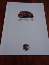 Fiat Bravo range brochure Aug 2012