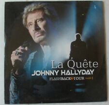 JOHNNY HALLYDAY  LA QUETE FLASHBACK TOUR   CD SINGLE   NEUF SCELLE