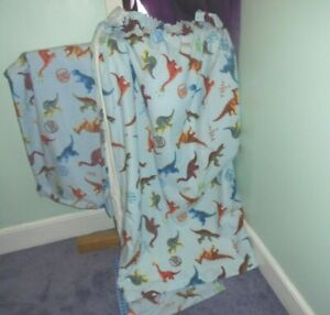 Dinosaur Bedding & Pencil Pleat Curtain Set From NEXT