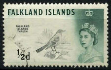 Birds Used British Colony & Territory Stamps