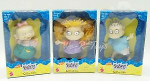 Rugrats Collectible Dolls Lot of 3 Tommy Angelica Lil Nickelodeon 1997 Mattel 2