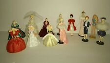 Lot of 13 Vintage Hallmark Christmas Ornaments Barbie No Boxs.