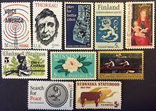 Ten 1967 Commemorative singles, Scott #1326-30, 1333-37, MNH, F-VF