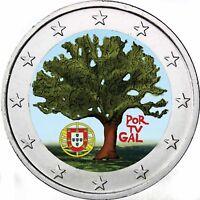 Portugal 2 Euro 2007 Ratspräsidentschaft der EU Bankfrisch in Farbe