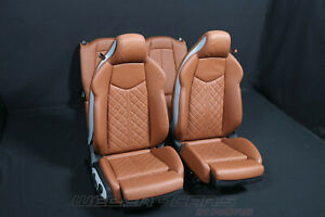 Audi Tt 8S Coupe Sport Sportsitze Leather Trim Leather Seats Interior
