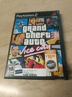 Grand Theft Auto Vice City GTA PlayStation 2 PS2 Rockstar Games