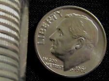 1961-D 10C Roosevelt Dime BU Uncirculated Dime out of BU roll Silver #030519