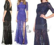 Lace Hand-wash Only Floral Maxi Dresses for Women