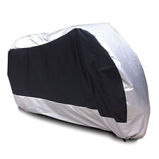 XXL Waterproof Motorcycle Cover Fit Yamaha V-Star XVS 650 1100 Classic Silverado