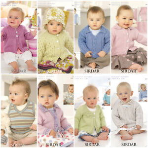 Sirdar Snuggly Baby Bamboo Patterns  £2.90 per pattern  26 patterns available!