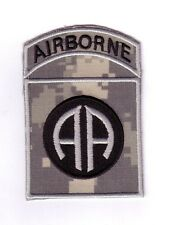 "82nd AIRBORNE DIVISION ""ACU Theater Made"" (Fabrication Actuelle)"