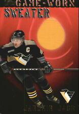 2000-01 Topps Game-Worn Sweaters Penguins Hockey Card #GWJJ Jaromir Jagr Jsy