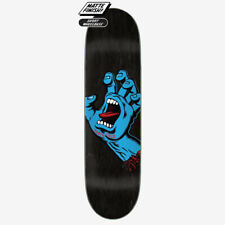 "Santa Cruz Screaming Hand Skateboard Deck - 8.6"" - black"