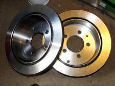 Rear brake disc set, Mazda Bongo 2.0i, 2.5 V6, TD diesel 2x new 286mm discs