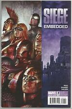 Siege #1 : Embedded : Marvel comic book