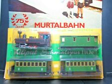 LILIPUT MURTALBAHN RAILWAY NARROW GAUGE STEAM PASSENGER SET