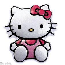 Lot Of 24 Pcs. Hk-20 Hello Kitty Glitter Cake Topper Pop Tops *New*