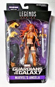 """Marvel Legends Series ANGELA Guardians of the Galaxy 2 Titus BAF 6"""" 15cm AF - VG"""
