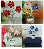 CRYSTAL CUT BLUE,PINK,RED & MULTI COLOURED BIRTHDAY, MOTHRR'S DAY  GIFT BOX