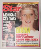 Star Magazine August 25, 1998 - Princess Diana, Monica's Sex Diary