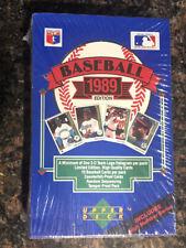 1989 Upper Deck Baseball Factory Sealed High Series Box Ken Griffey Jr. RC Yr