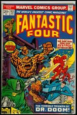 Marvel Comics FANTASTIC FOUR #143 Doctor Doom FN- 5.5