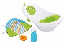 BABY BATH TUB by Fisher-Price 4-in-1 Newborn Infant Toddler Versatile BathTime
